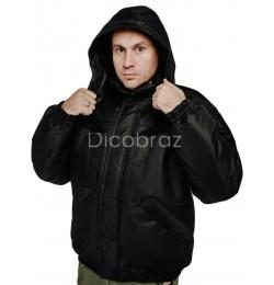 Куртка зимняя Таслан Полиция Черная