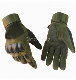 Перчатки Oakley закрытые Олива