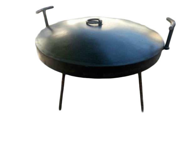 сковородка из дисковой бороны
